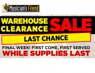 Musician's Friend Warehouse Sale - Up to 92% off MSRP