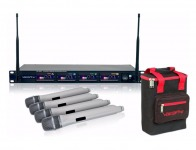 $350 off VocoPro UHF-5800 Plus 4-Microphone Wireless System