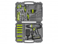 $100 off Evolv 107-Piece Cordless Lithium Drill & Project Toolkit