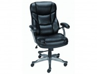 41% off Staples Osgood Bonded Leather Office Chair, Black or Brown