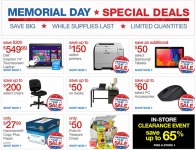 Office Depot Memorial Day Special Deals