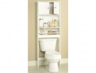 42% off White Spacesaver with Cabinet and Drop Door