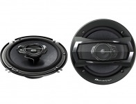 "$60 off Pioneer TS-A1675R 6-1/2"" 3-Way TS Series Coaxial Car Speakers"