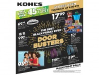 Kohl's Black Friday Deals - Preview the Deals Now