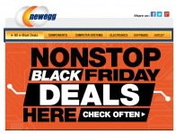 Newegg Black Friday Weekend Extended Deals - 2 Days Only