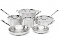 $900 off All-Clad MC2 Pro Master Chef 2 Tri-Ply 10 pc Cookware Set