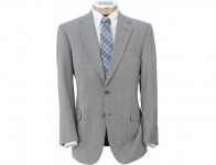 93% off Tropical Weave 2-Button Tailored Fit Suit w/ Plain Trousers