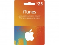10% off Apple $25 Itunes Gift Card
