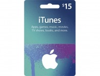10% off Apple $15 Itunes Gift Card