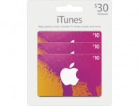 10% off Apple $10 Itunes Gift Cards (3-pack)