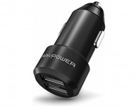 60% off RAVPower 24W 4.8A Dual USB Mini Car Charger