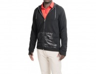 78% off Adidas golf Capsule Hooded Jacket - Full Zip (For Men)