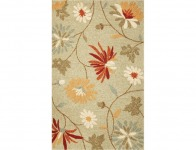 93% off Kas Rugs Playful Flowers Sage 5 ft. x 7 ft. 6 in. Area Rug