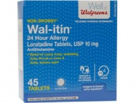 91% off Wal-itin Non-Drowsy 24 Hour Allergy Relief Tablets, 45 ea