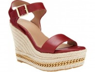 81% off G.I.L.I. Leather Espadrille Wedge Sandals