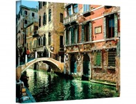 98% off Venice Canal by George Zucconi Gallery Wrapped Canvas