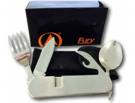 45% off Fury Camping Utensils with Detachable Fork, Spoon and Knife