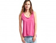 65% off Gap Vintage Wash Scoop Tank