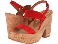 83% off Dolce Vita Tilly (Red Suede) Women's Shoes