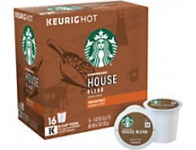 68% off Starbucks Pods House Blend Coffee K-Cup Pods, Box Of 16