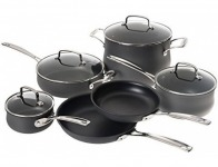 74% off Cuisinart Profile 10-Pc Hard Anodized Cookware Set