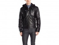 94% off Lucky Brand Men's Archibald Faux Leather Moto Jacket