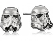 58% off Star Wars 3D Storm Trooper Stainless Steel Stud Earrings