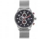 85% off Akribos XXIV Men's Enterprise Stainless Steel Watch