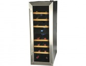 52% off Kalorik 21-Bottle Wine Bar, Black/Silver