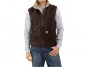 53% off Carhartt Sandstone Mock Neck Vest For Men