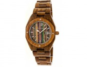 59% off Earth Wood Cypress Skateboard Dial Wood Watch