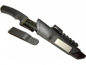 64% off Morakniv Bushcraft Carbon Steel Survival Knife with Fire Starter