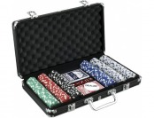 55% off John N. Hansen 300 Chip Poker Game Set