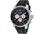 93% off Red Line Topgear Chrono Black Silicone and Dial Watch