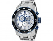 92% off Invicta 80043 Pro Diver Chrono SS Silver-Tone Watch