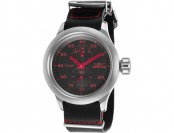 93% off Invicta 19495 Russian Aviator GMT Leather Watch