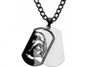 68% off Star Wars Darth Vader Stainless Steel Dog Tag