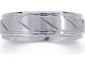 80% off Men's Stainless Steel Wedding Band