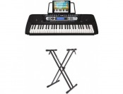 28% off RockJam 54-Key Portable Keyboard w/ Rockjam Xfinity Stand