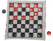 47% off Jumbo Checker Rug Game