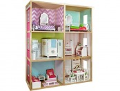 "$120 off My Girl's Dollhouse for 18"" Dolls - Modern Home Style"