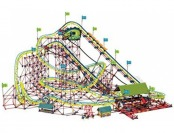 $647 K'NEX Thrill Rides - Son of Serpent Roller Coaster Building Set