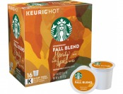 33% off Starbucks Fall Blend (16-Pack)