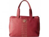 77% off Tommy Hilfiger TH Eyelet Tote (Red)