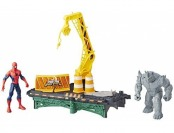 63% off Marvel Spider-Man Rhino Rampage Play Set