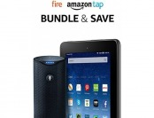 "$80 off Fire Tablet, 7"" Display, 16 GB + Amazon Tap"