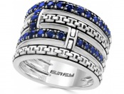 58% off Effy Royale Bleu Sapphire Multi-Layer Statement Ring