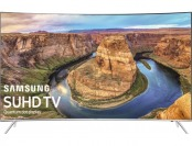 "$900 off Samsung KS8500 55"" LED Curved 2160p Smart 4K Ultra HDTV"