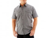68% off The Foundry Supply Co. Short Sleeve Modern Woven Shirt