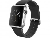 $90 off Apple Watch 42mm Stainless Steel Case w/ Black Buckle